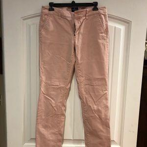 American Eagle Peach Skinny Pants  Size 10 X-Long